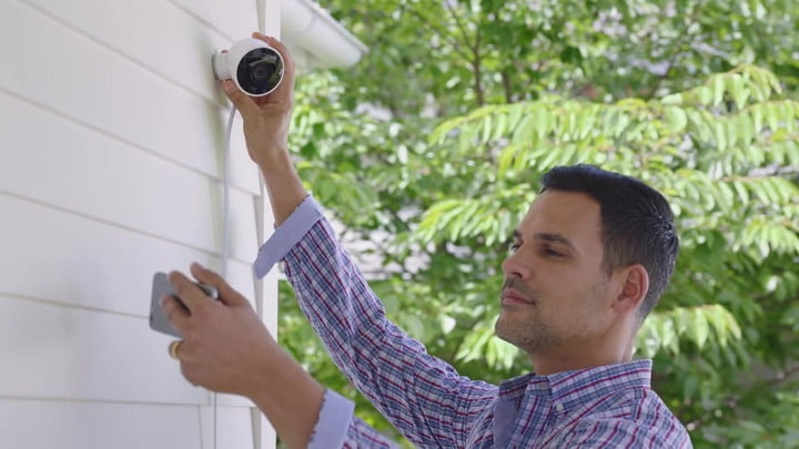 The Nest Cam Outdoor Camera Has Two-Way Audio