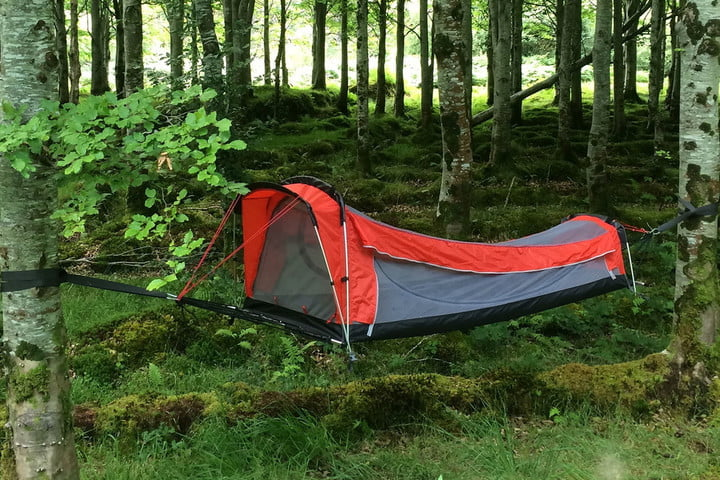Crua Hybrid Kickstarter: All-in-1 Tent, Hammock, Sleeping Bag