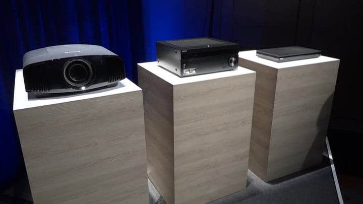 Sony 4K UHD Blu-ray Player, HDR Projector Announced