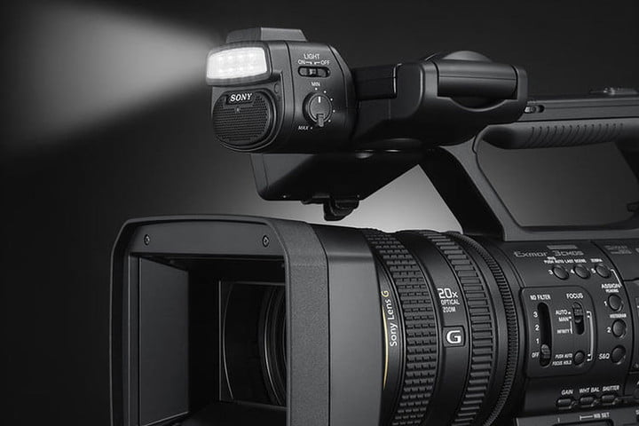 Sony Adds Lamp, Live Broadcasting to New Pro Camcorder