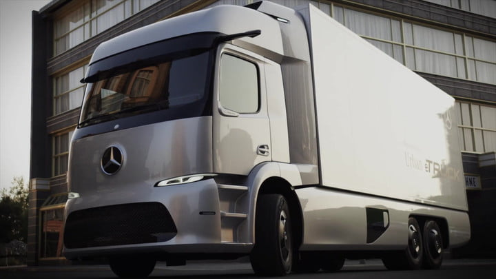 Mercedes-Benz Urban eTruck Concept | Photos, Specs