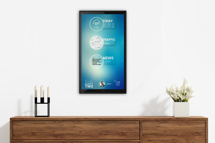 Lucy Is A Giant Wall-Mounted iPad For Your Smart Home
