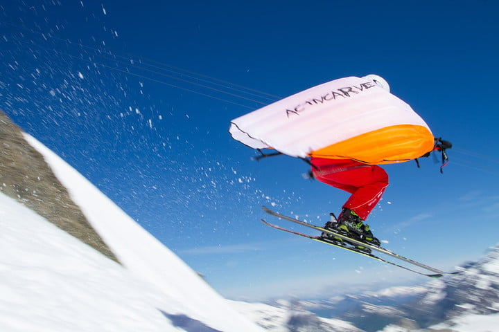 Wingjump Is the World's First Set of Wings for Skiing