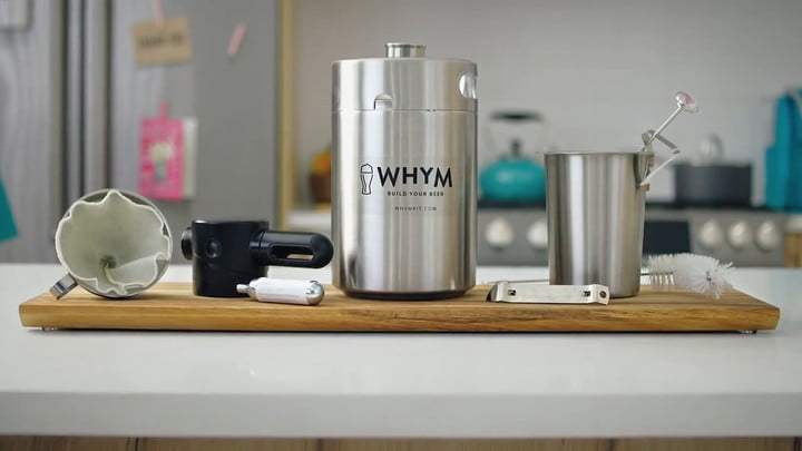 Brew Freshly Crafted Beer in Just 24 Hours with Whym