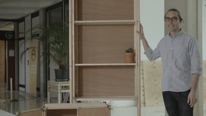 Adjustable 3D-Printed Furniture Concept Could Be Future Of Flat-Pack Furniture