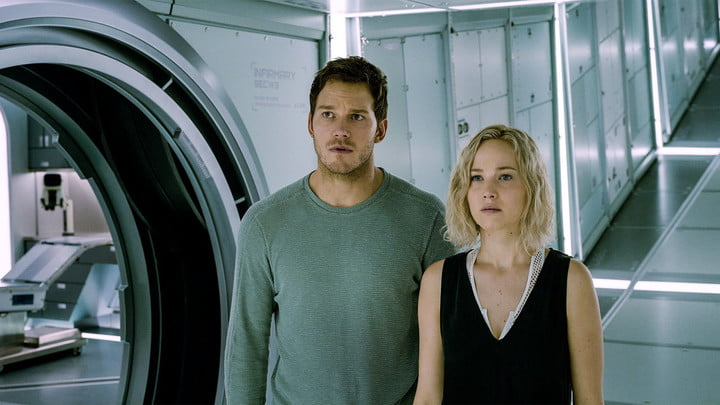 Passengers Review: A Cosmic Spectacle Falls Short