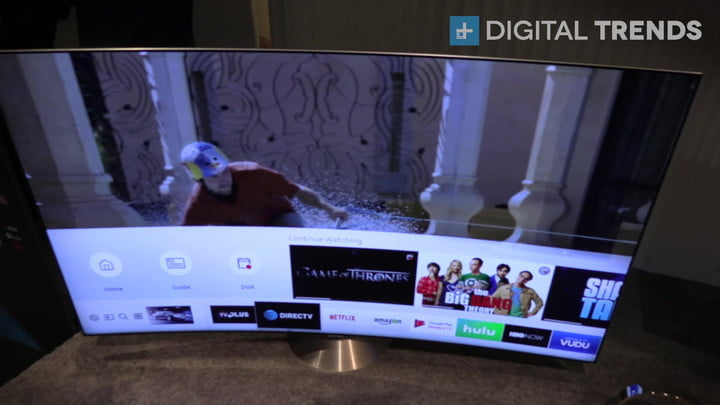 Hands on with Samsung QLED TV CES 2017