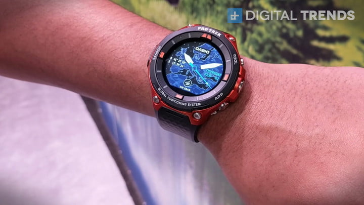 Casio's WSD-F20 Runs Android Wear 2.0, Adds GPS