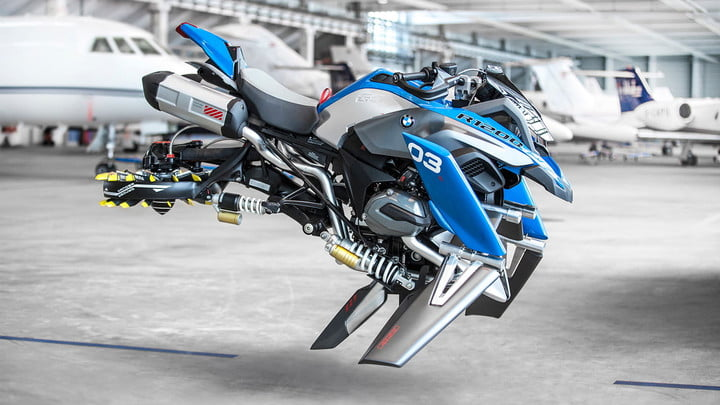 BMW Hover Ride Concept | Pictures, Specs, Lego