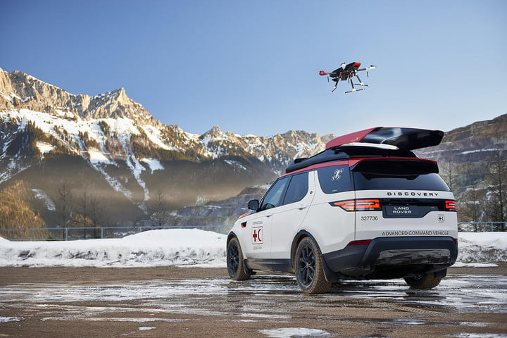 Land (and Air) Rover: Drone-Launching SUV Will Aid Search-and-Rescue Teams