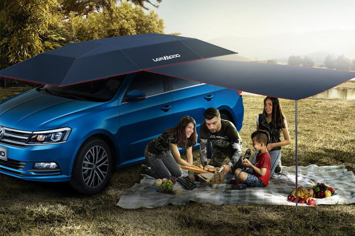 Lanmodo is the Worldu0026#8217;s First All-in-One Automatic Car & Lanmodo is the worldu0027s first all-in-one automatic car tent