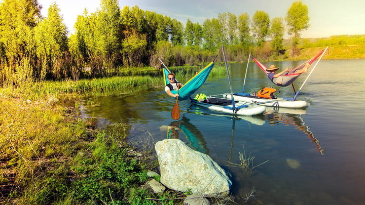 Hammock Over Water With the Innovative Hammocraft
