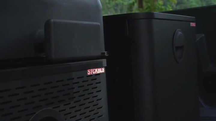 STCKBLS is a modular, portable grilling system for camping and tailgating