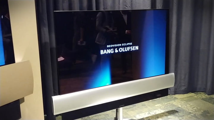 Bang & Olufsen and LG Team Up For New BeoVision Eclipse 4K OLED TV