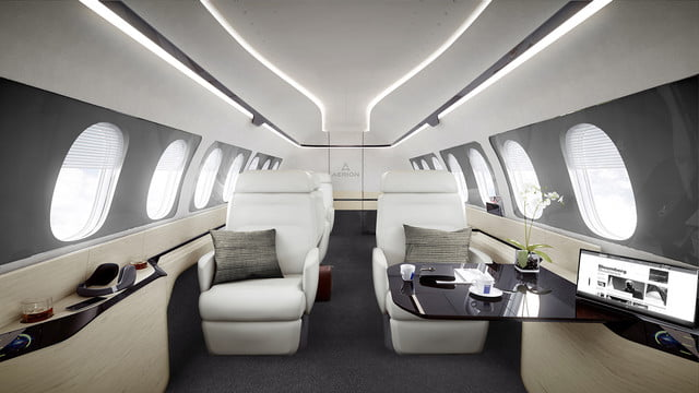 high speed concepts that could mark the return of supersonic travel press center  cabin b