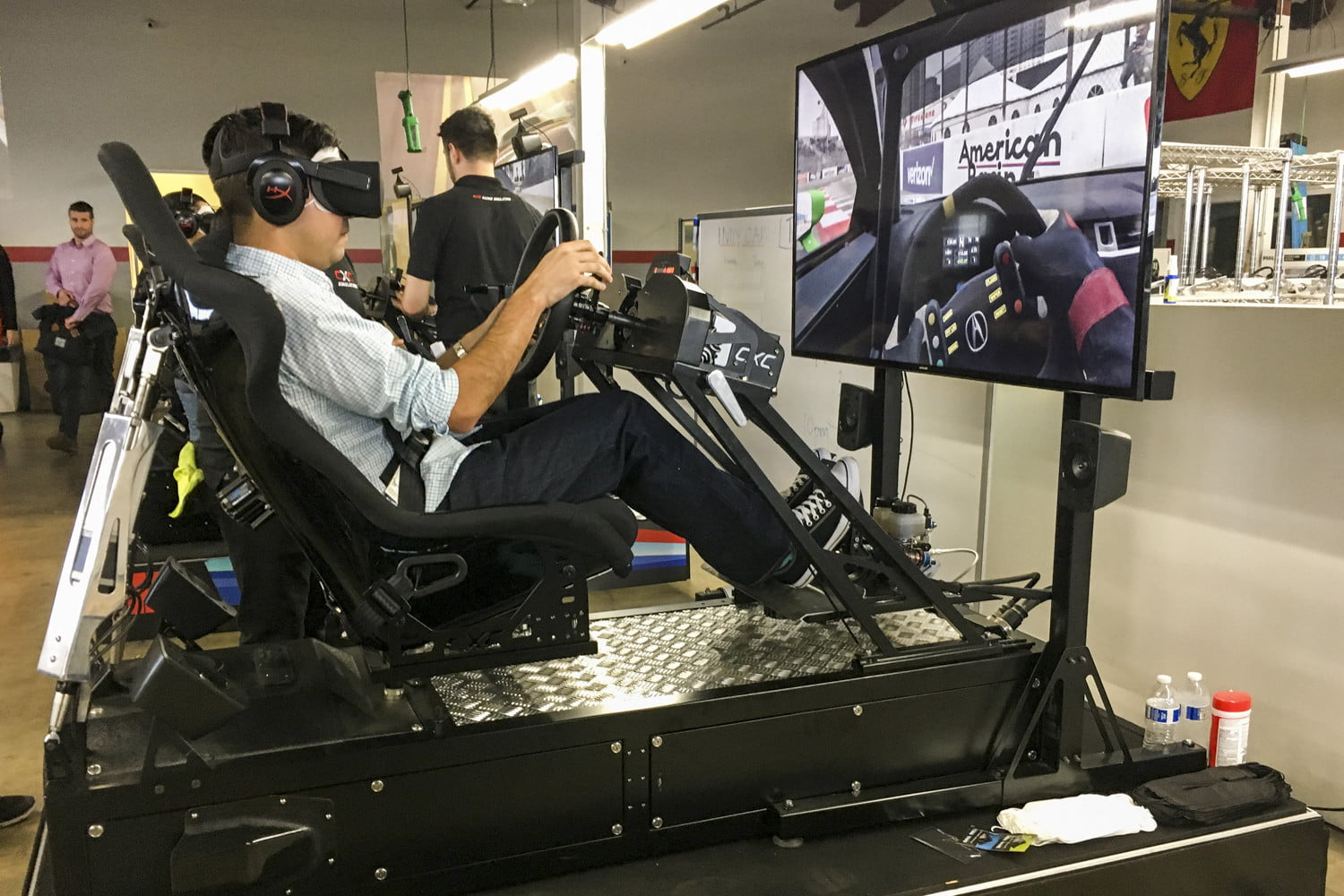 Hands-On: We Played Project CARS 2 in a Giant Racing Simulator