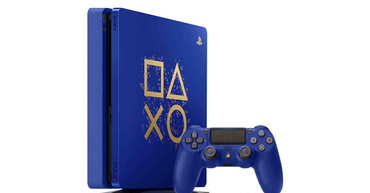The Days of Play limited-edition PlayStation 4 sure is a beauty