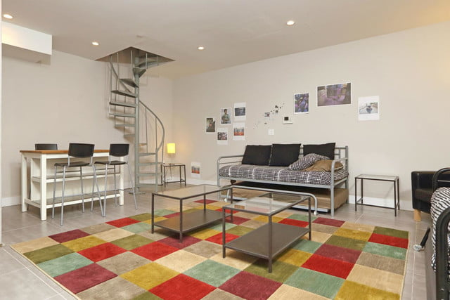 pure house co living apartment stairs