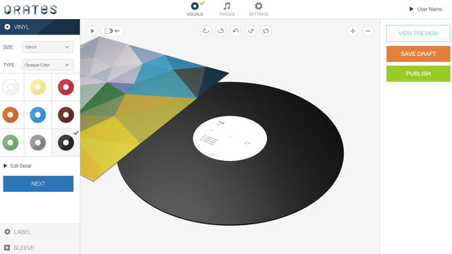 qrates crowdfunding and pressing assistance for vinyl records 5