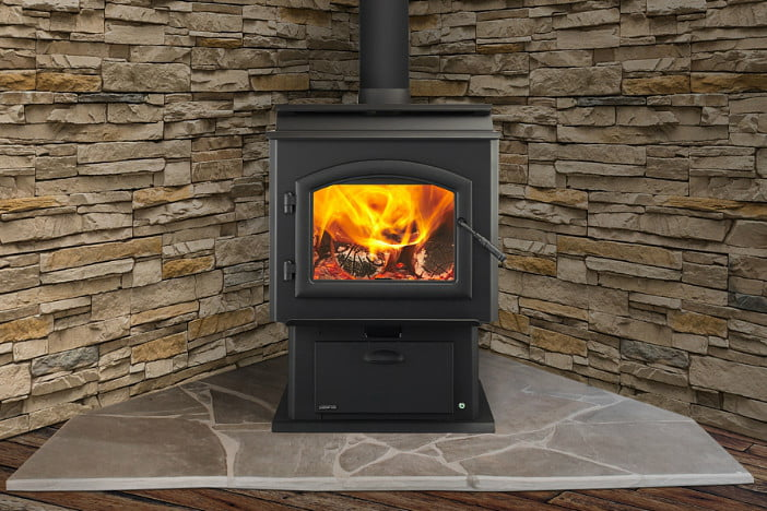 Quadra Fire Introduces A Thermostat Controlled Wood Stove