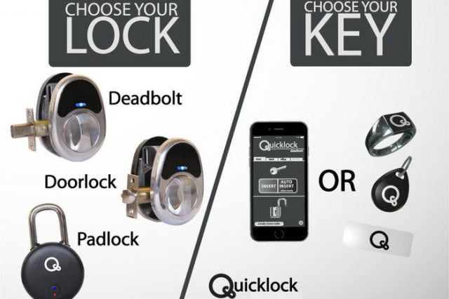 Admirable The Quicklock System Use Bluetooth And Nfc To Unlock Doors Door Handles Collection Olytizonderlifede