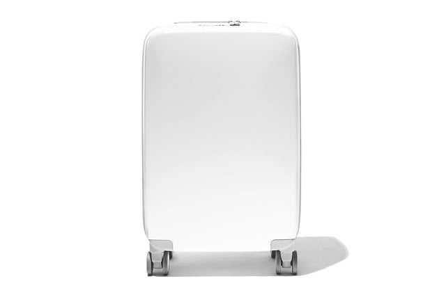 raden smart luggage a22 carry hero white gloss 1