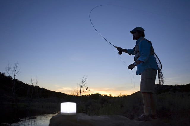 Lucis mood lighting - fishing outdoors