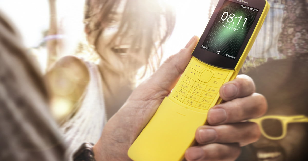 Nokia's throwback 8110 4G smartphone is a design classic for under $100
