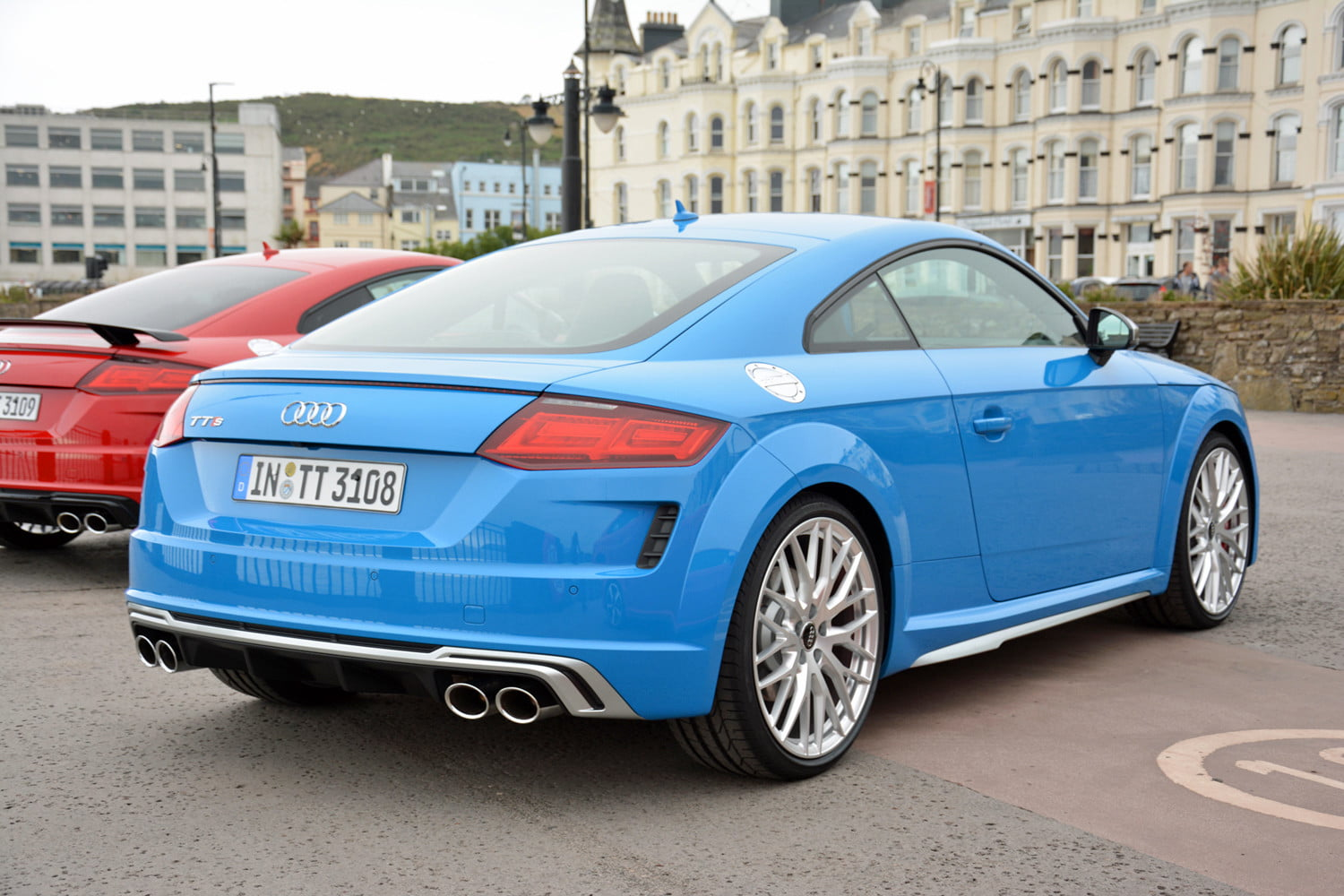Audi Kicks Off The Tt S 20th Birthday Bash With More
