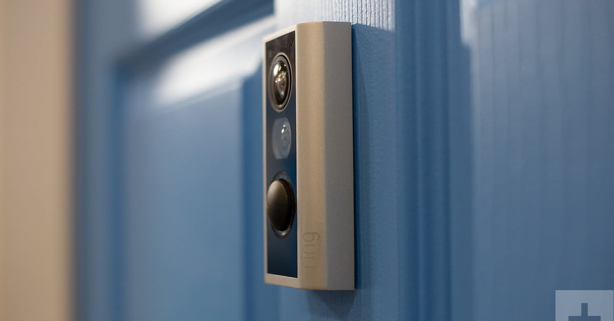 Ces 2019 Ring Door View Camera Hands On Review Digital