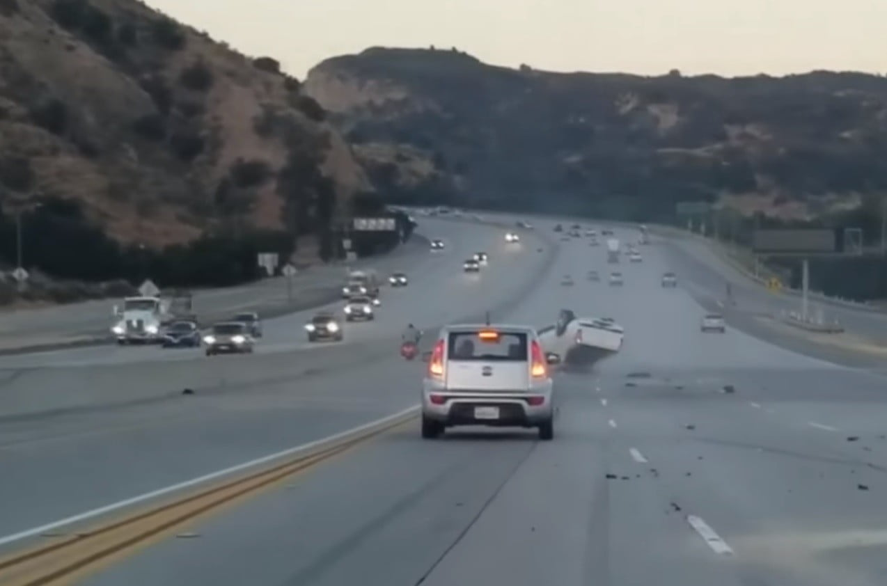 Road Rage Incident Turns A California Freeway Into A Real Life Gta Game