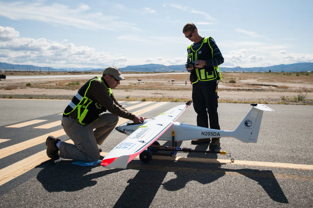 Savant drone used to seed clouds in Nevada desert