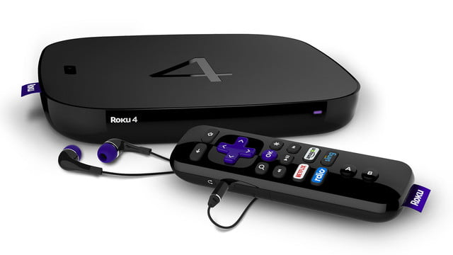 Roku 4 is a Powerful 4K Streamer with Universal Voice Search