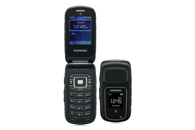 flip phones aren t dead after all meet the samsung rugby 4 rh digitaltrends com Best Flip Phone for Seniors AT&T Flip Phones In-Store