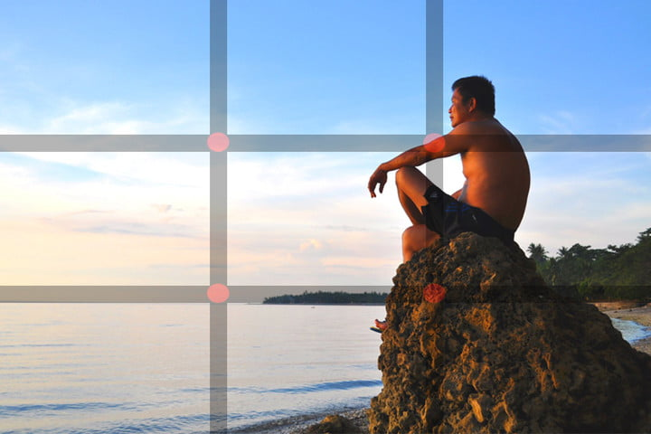 what is the rule of thirds example2