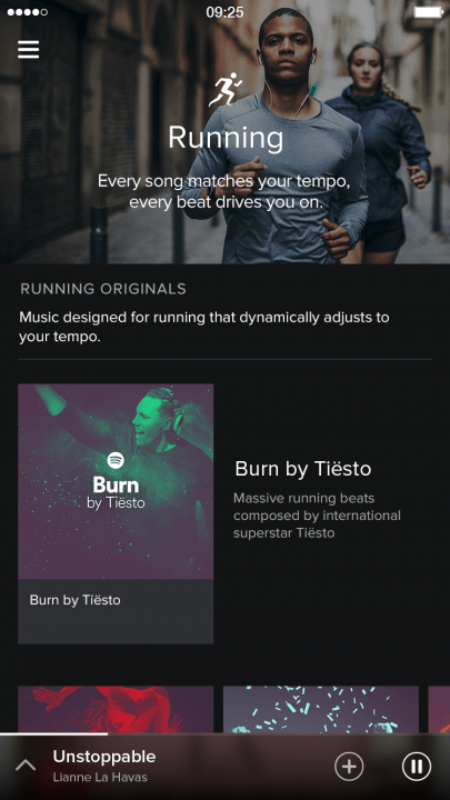 spotify adds video podcasts and running music features screenshot 1
