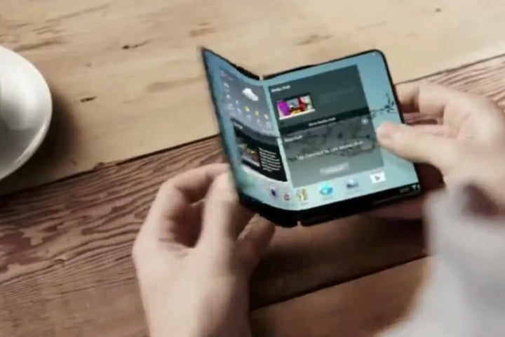 Samsungu0027s Project Valley Foldable Phone ...