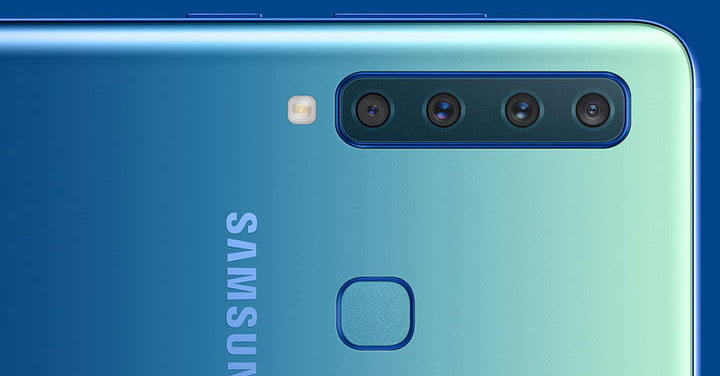 How Many? The Samsung Galaxy A9 Has 4 Camera Lenses on The ...