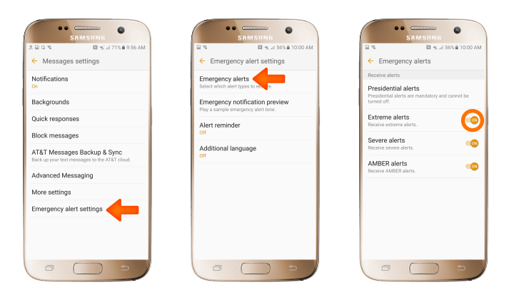 How To Turn Off Amber Alerts In Android And Ios Digital