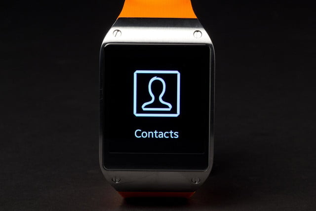 samsung galaxy gear smartwatch review contacts