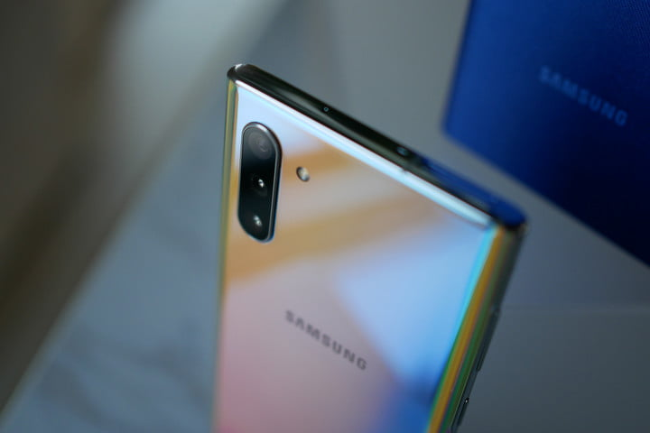 Samsung said the new Galaxy Note 10 was made of stainless steel. It's not