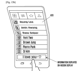 samsung foldable smartphone news galaxy x patent 2