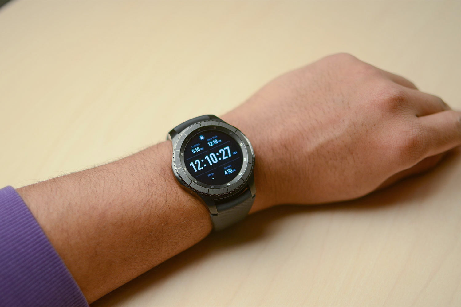 Samsung Gear S3 Review A Great Watch For Android Owners Digital Frontier Double Side Strap Only