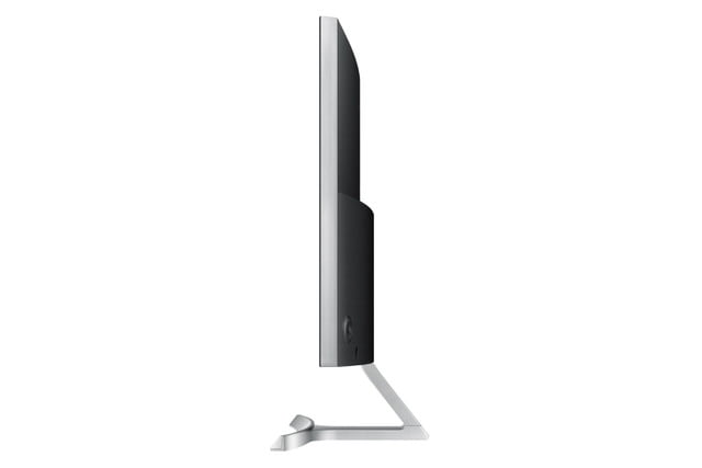samsung reveals curved 27 inch 1080p pc monitor sd590c side