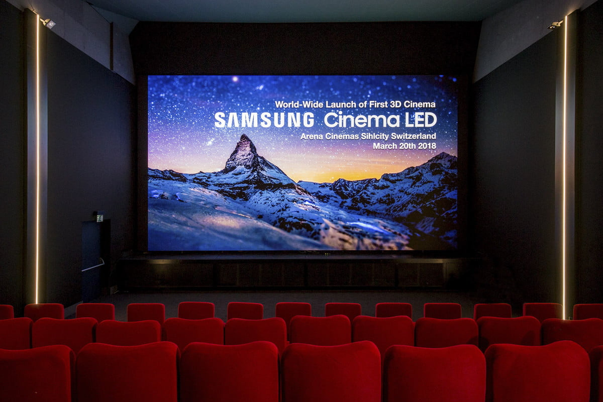 samsung onyx 34 foot led screen theater 3d cinema 4