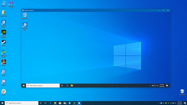 Cómo usar Windows Sandbox en una PC