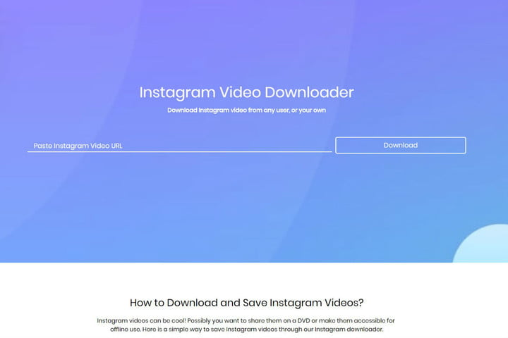 how to save instagram videos savefromtheweb