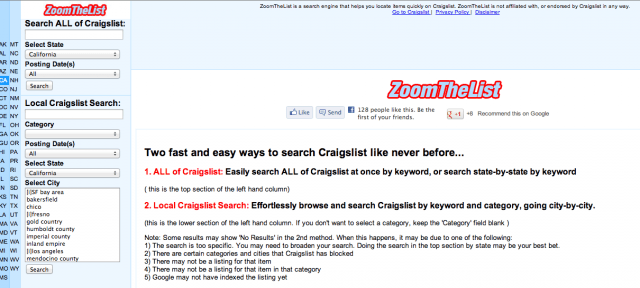 Nationwide Craigslist Search >> Best Craigslist Search Engines | Digital Trends