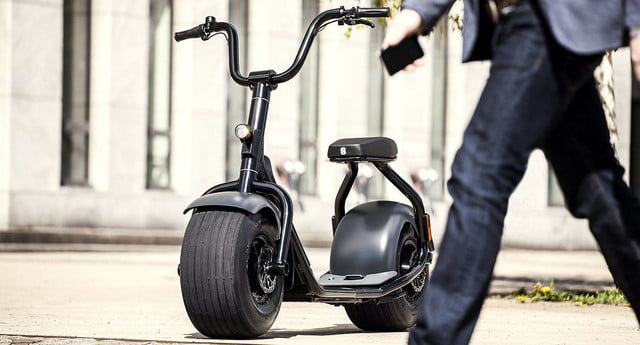 scrooser electric scooter minimalist design urban transport outdoor 12