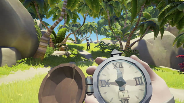 Sea Of Thieves Hands-on Preview | Using a compass on the island